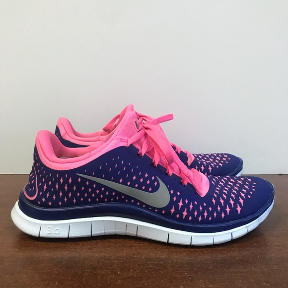 watch 4c0aa ceef7 Nike Free Run 3.0 V4 Women's Running Shoes. SZ 7.5